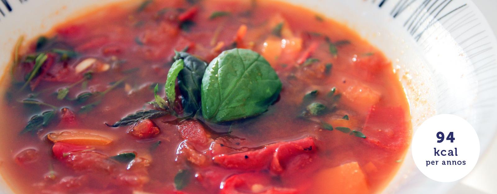 Kevyempi tomaattikeitto